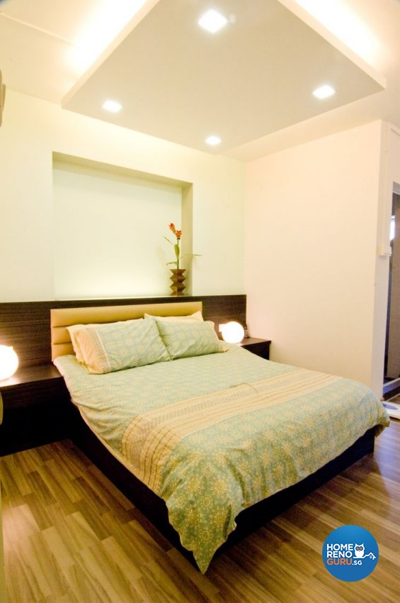 Contemporary, Modern Design - Bedroom - HDB 4 Room - Design by Crescendo Interior & Lifestyle Pte Ltd