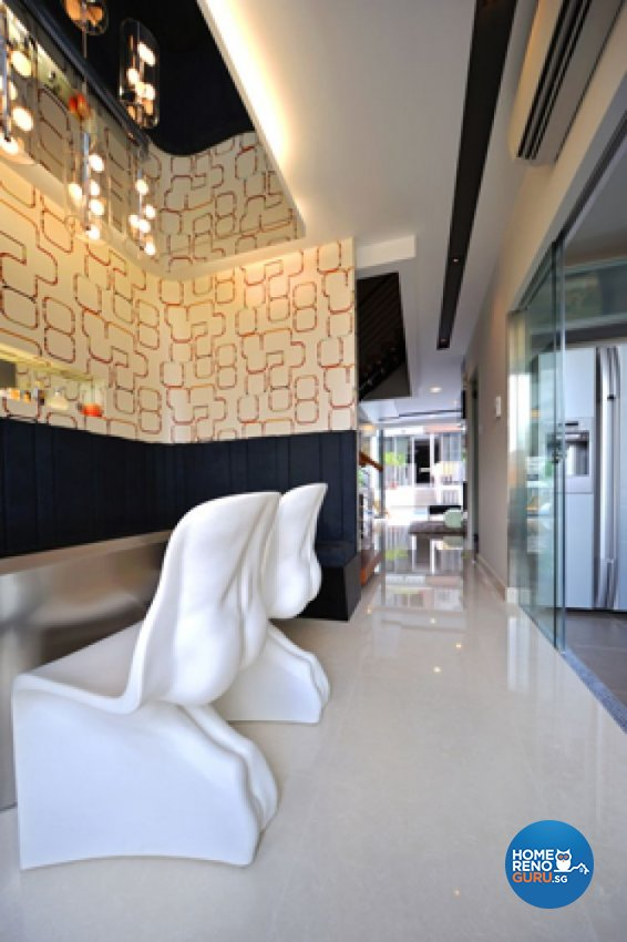 Contemporary, Modern Design - Dining Room - Landed House - Design by Crescendo Interior & Lifestyle Pte Ltd