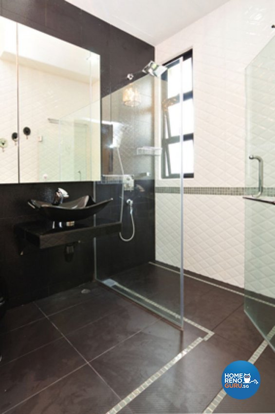 Classical, Contemporary, Modern Design - Bathroom - Landed House - Design by Crescendo Interior & Lifestyle Pte Ltd