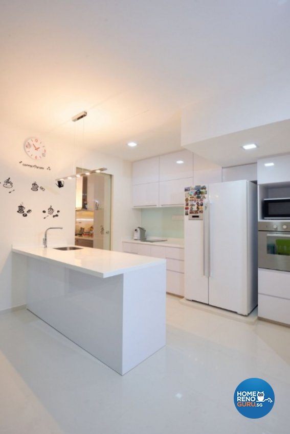 Contemporary, Modern Design - Kitchen - Landed House - Design by Crescendo Interior & Lifestyle Pte Ltd