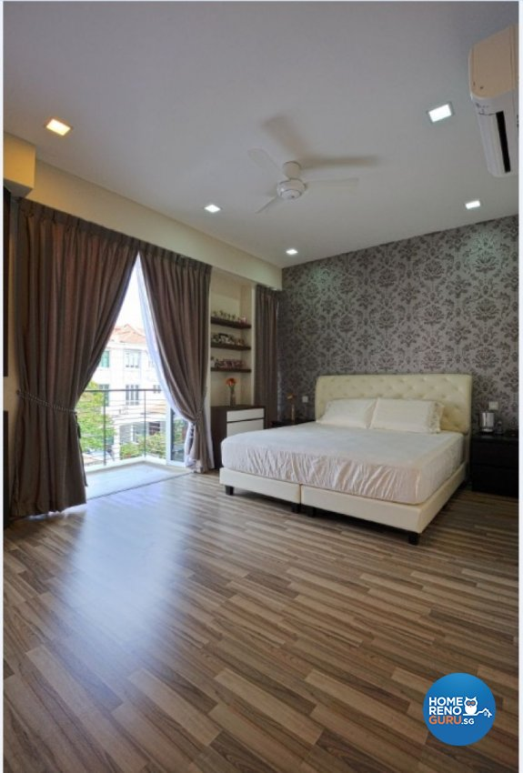 Contemporary, Modern Design - Bedroom - Landed House - Design by Crescendo Interior & Lifestyle Pte Ltd