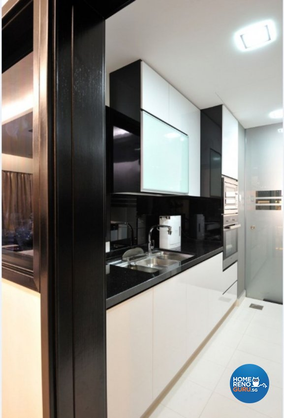 Contemporary, Modern Design - Kitchen - Condominium - Design by Crescendo Interior & Lifestyle Pte Ltd