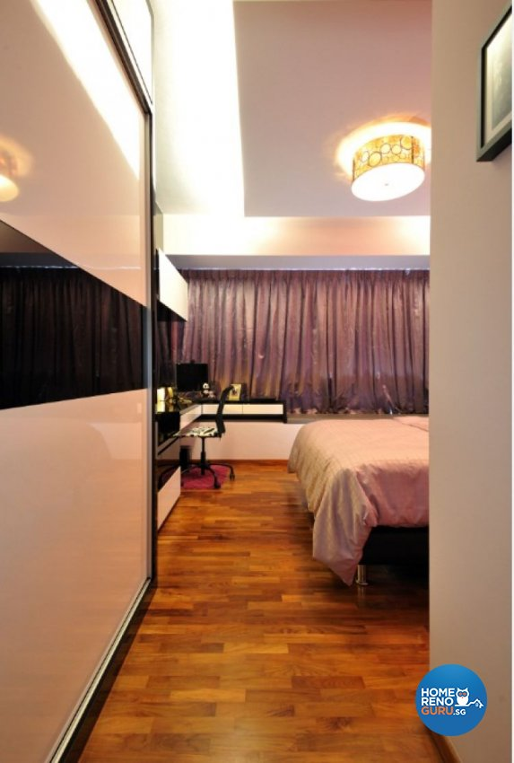 Contemporary, Modern Design - Bedroom - Condominium - Design by Crescendo Interior & Lifestyle Pte Ltd