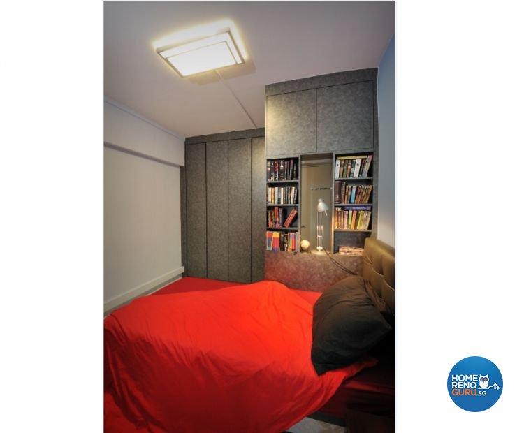 Classical, Contemporary, Modern Design - Bedroom - HDB 4 Room - Design by Crescendo Interior & Lifestyle Pte Ltd