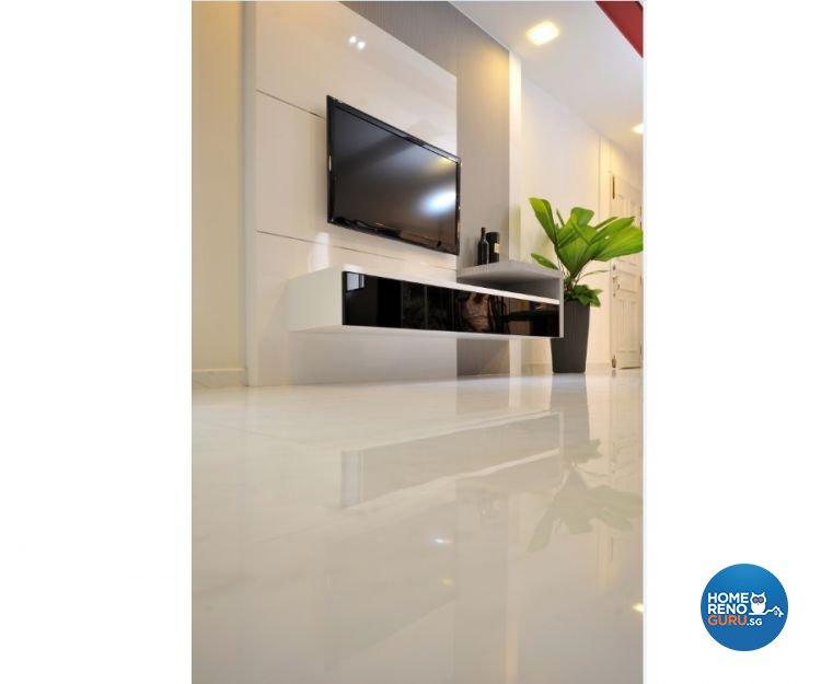 Classical, Contemporary, Modern Design - Living Room - HDB 4 Room - Design by Crescendo Interior & Lifestyle Pte Ltd