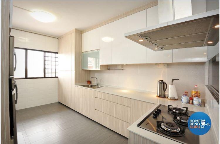 Classical, Contemporary, Modern Design - Kitchen - HDB 4 Room - Design by Crescendo Interior & Lifestyle Pte Ltd