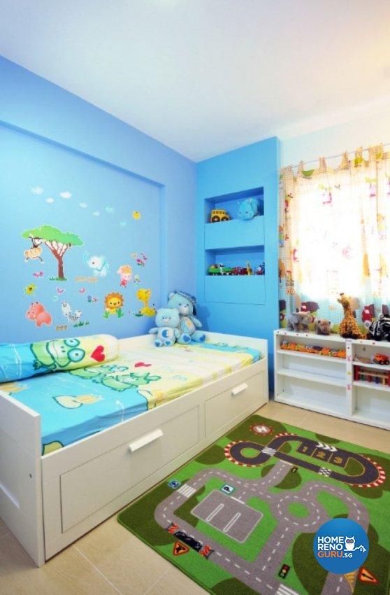 Contemporary, Modern Design - Bedroom - HDB 5 Room - Design by Crescendo Interior & Lifestyle Pte Ltd