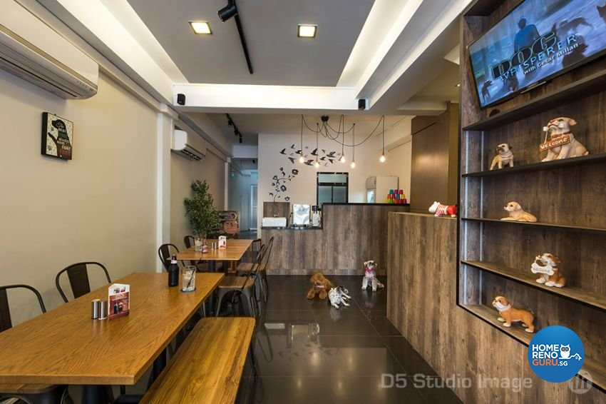 Contemporary Design - Dining Room - Retail - Design by D5 Studio Image Pte Ltd