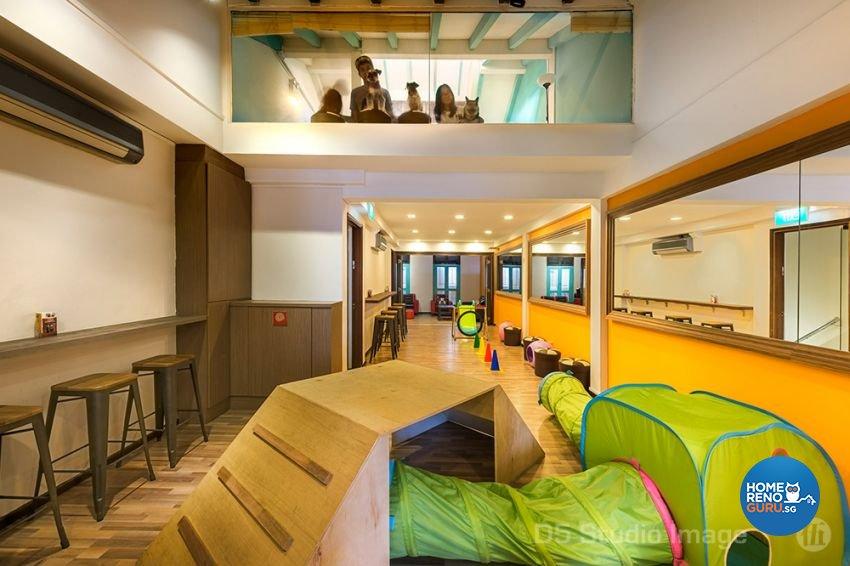 Contemporary Design - Entertainment Room - Retail - Design by D5 Studio Image Pte Ltd