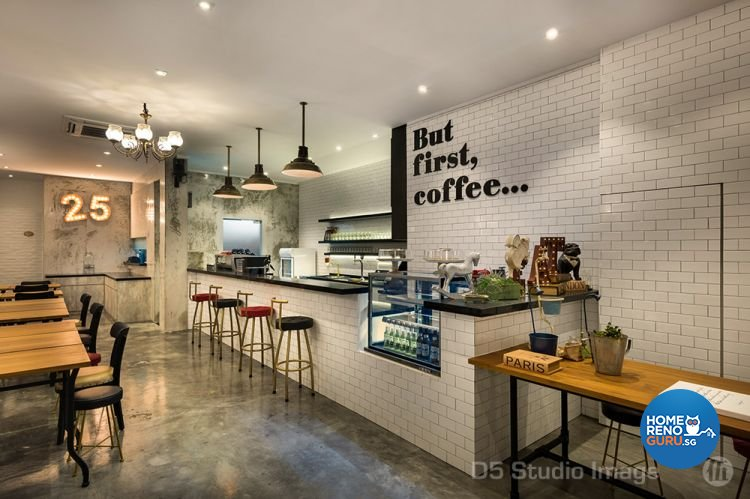Contemporary Design - Commercial - Retail - Design by D5 Studio Image Pte Ltd