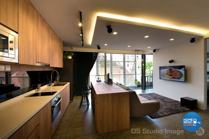 Scandinavian Design - Kitchen - Condominium - Design by D5 Studio Image Pte Ltd
