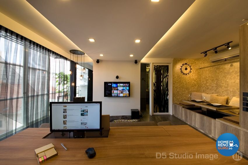 Scandinavian Design - Study Room - Condominium - Design by D5 Studio Image Pte Ltd