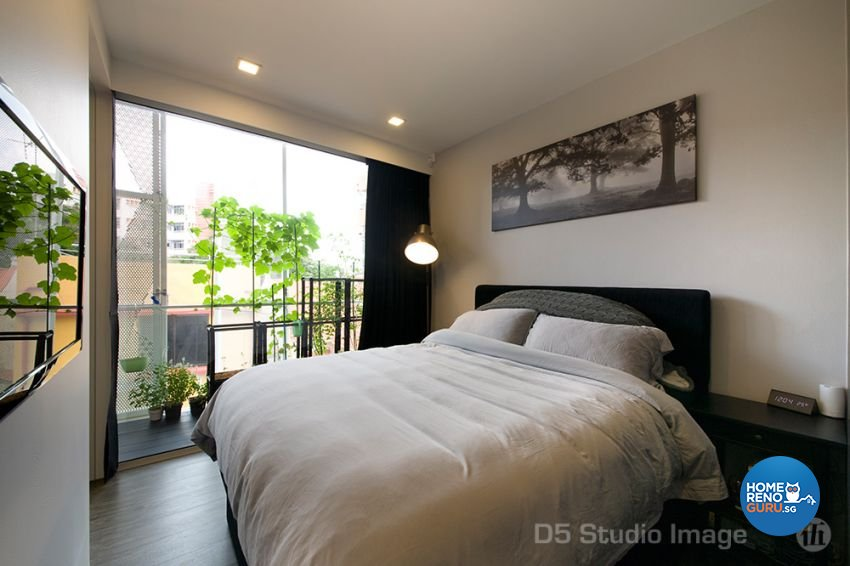 Scandinavian Design - Bedroom - Condominium - Design by D5 Studio Image Pte Ltd
