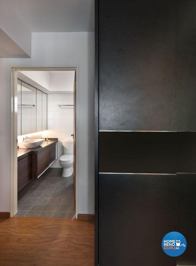 Contemporary Design - Bathroom - HDB 4 Room - Design by D5 Studio Image Pte Ltd
