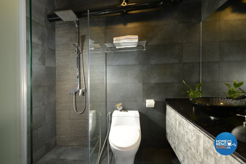 Modern Design - Bathroom - HDB 5 Room - Design by Darwin Interior