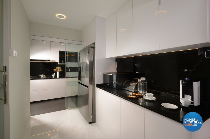 Modern Design - Kitchen - HDB 5 Room - Design by Darwin Interior