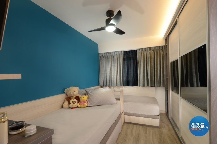 Contemporary Design - Bedroom - HDB 3 Room - Design by Darwin Interior