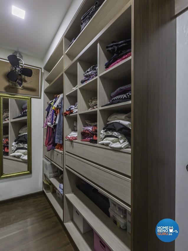 Contemporary Design - Bedroom - Landed House - Design by Darwin Interior