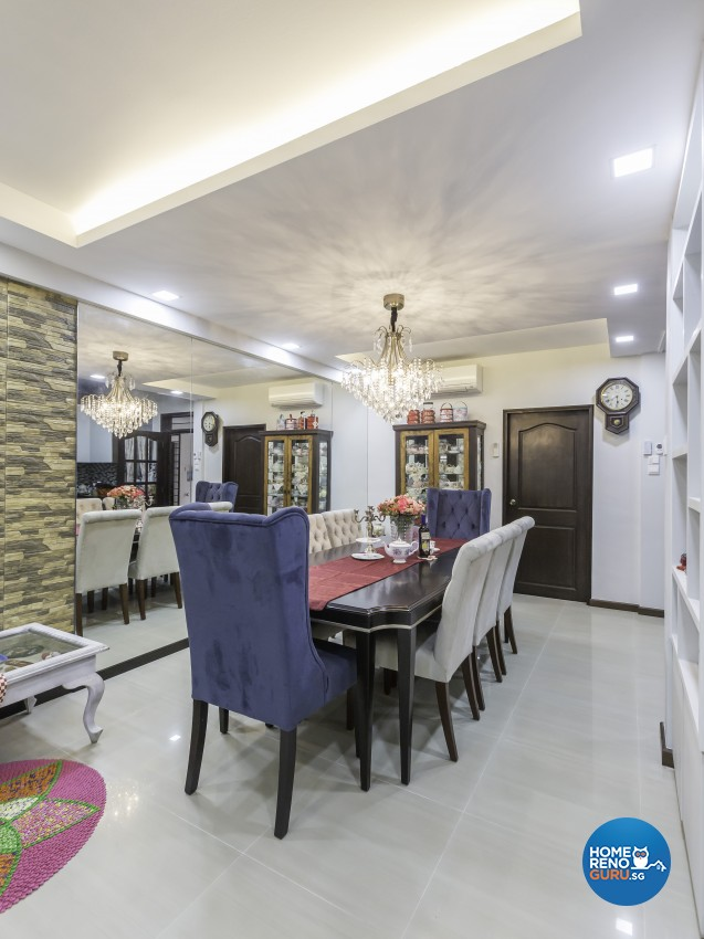 Contemporary Design - Dining Room - Landed House - Design by Darwin Interior