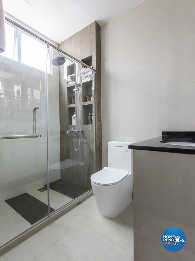 Contemporary Design - Bathroom - Landed House - Design by Darwin Interior