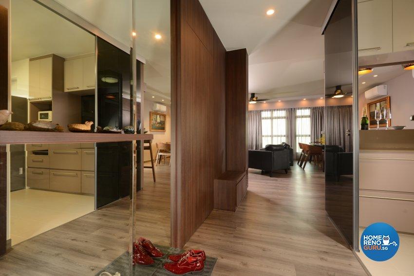 Contemporary Design - Living Room - HDB 5 Room - Design by Darwin Interior