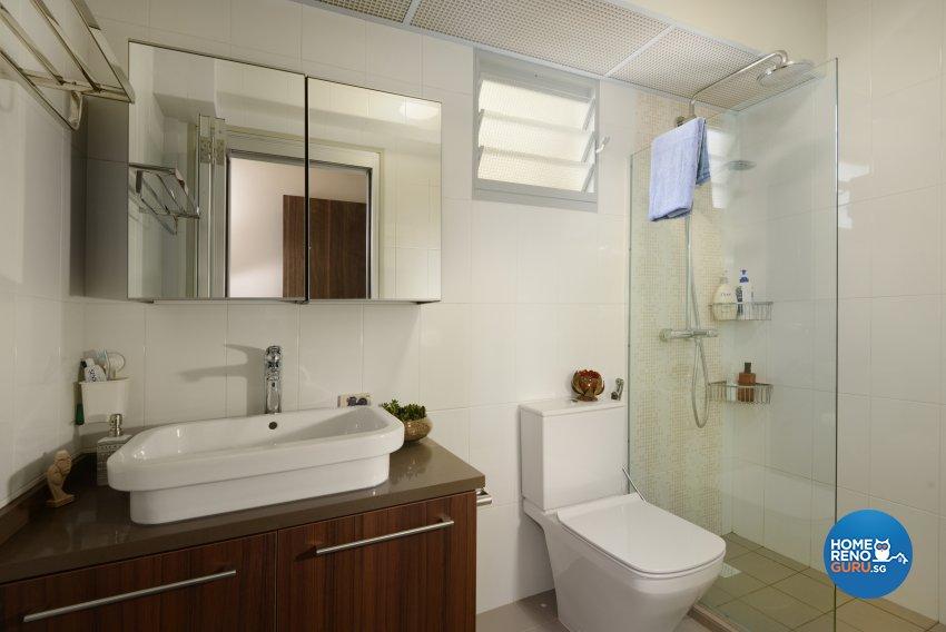 Contemporary Design - Bathroom - HDB 5 Room - Design by Darwin Interior