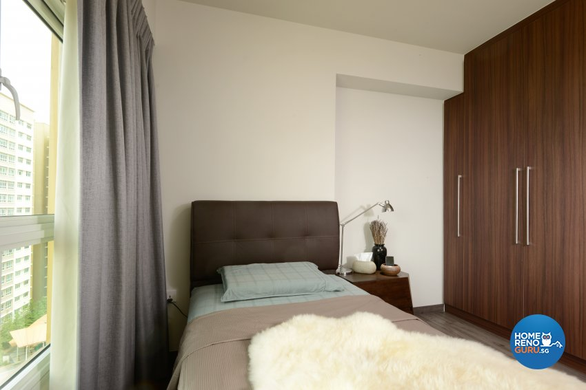Contemporary Design - Bedroom - HDB 5 Room - Design by Darwin Interior