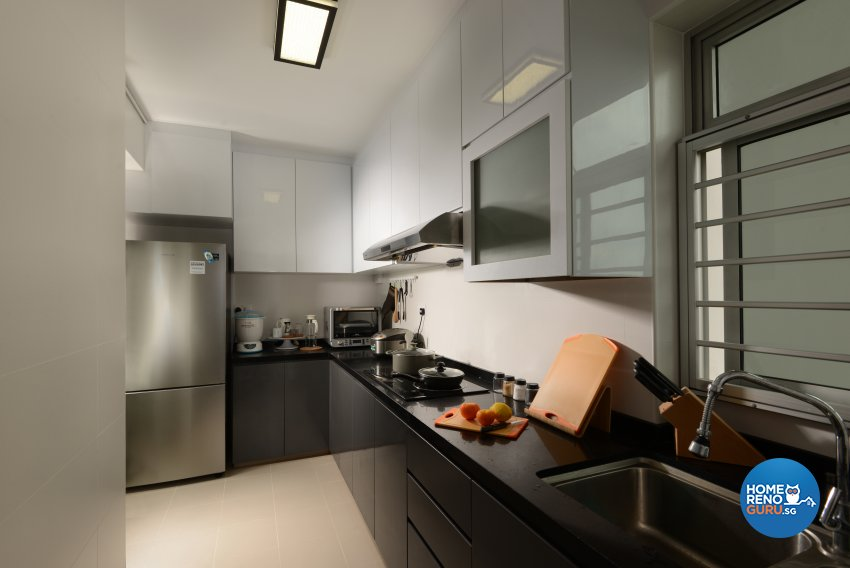 Contemporary Design - Kitchen - HDB 4 Room - Design by Darwin Interior