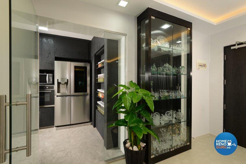 Modern Design - Living Room - HDB 4 Room - Design by Darwin Interior