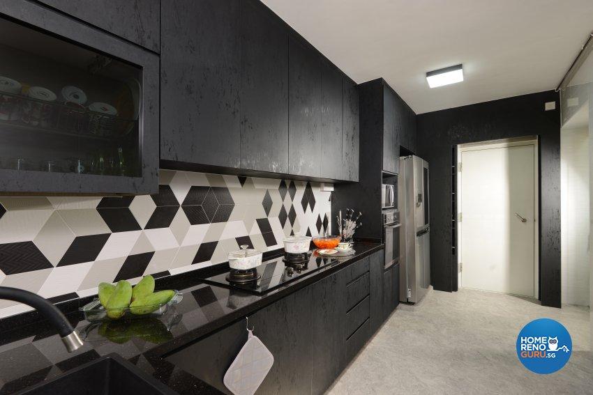 Modern Design - Kitchen - HDB 4 Room - Design by Darwin Interior