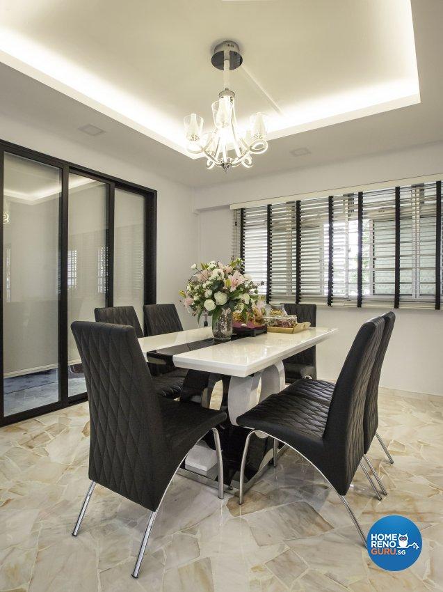 Contemporary, Modern Design - Dining Room - HDB 5 Room - Design by Darwin Interior