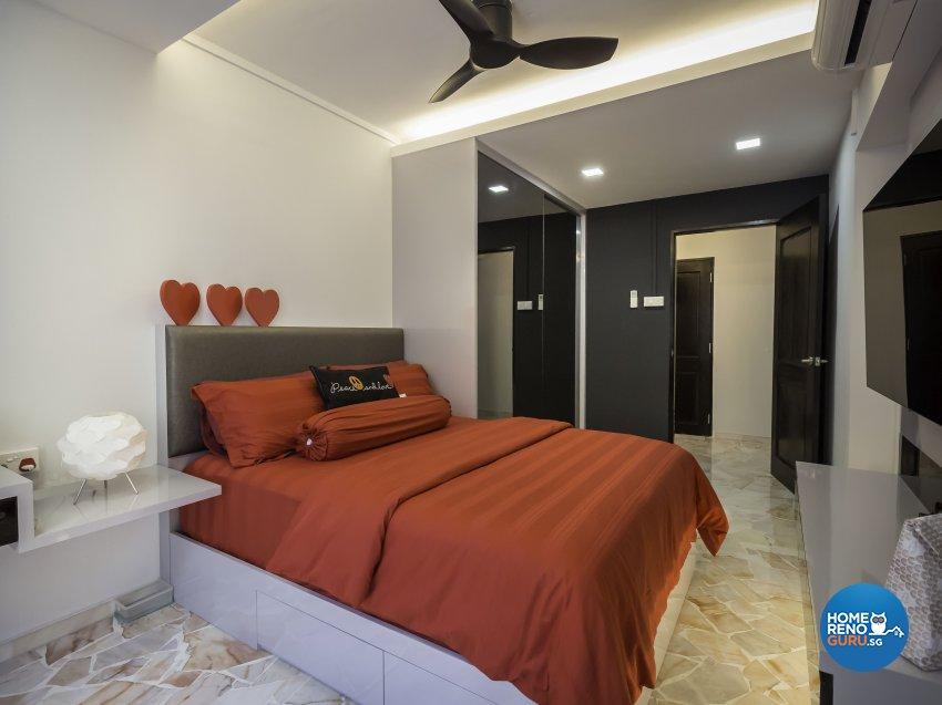 Contemporary, Modern Design - Bedroom - HDB 5 Room - Design by Darwin Interior