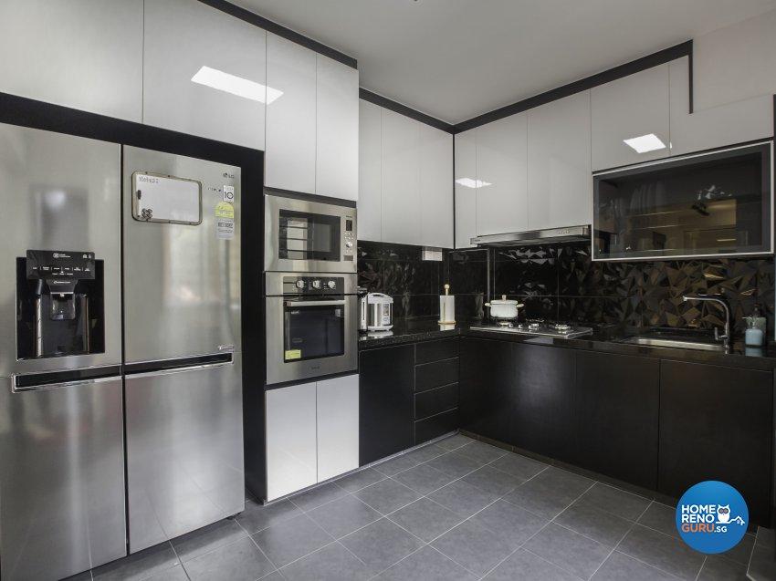 Contemporary, Modern Design - Kitchen - HDB 5 Room - Design by Darwin Interior