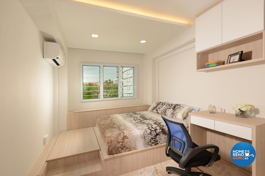 Modern, Resort Design - Bedroom - HDB 5 Room - Design by Darwin Interior