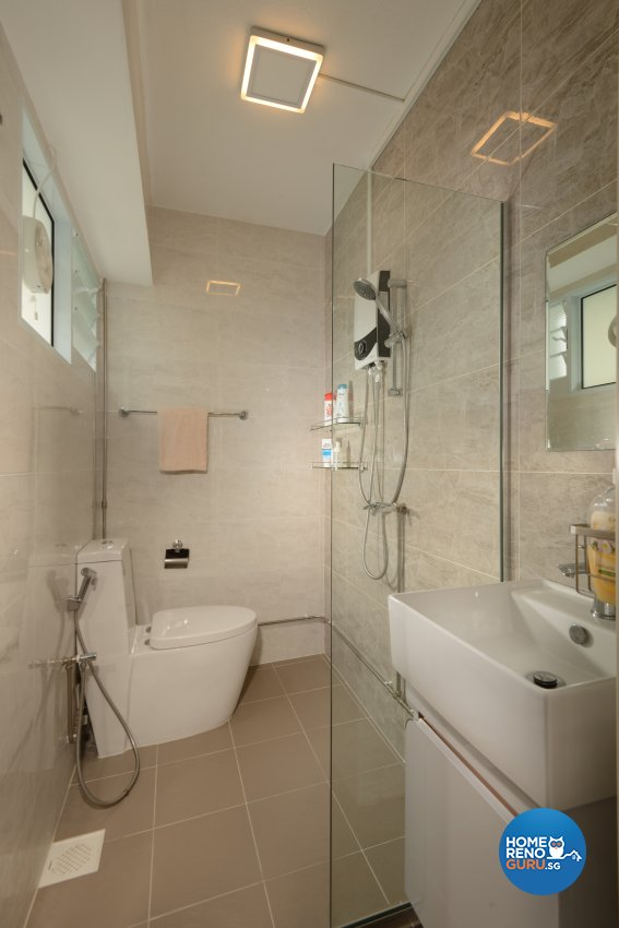Modern, Resort Design - Bathroom - HDB 5 Room - Design by Darwin Interior