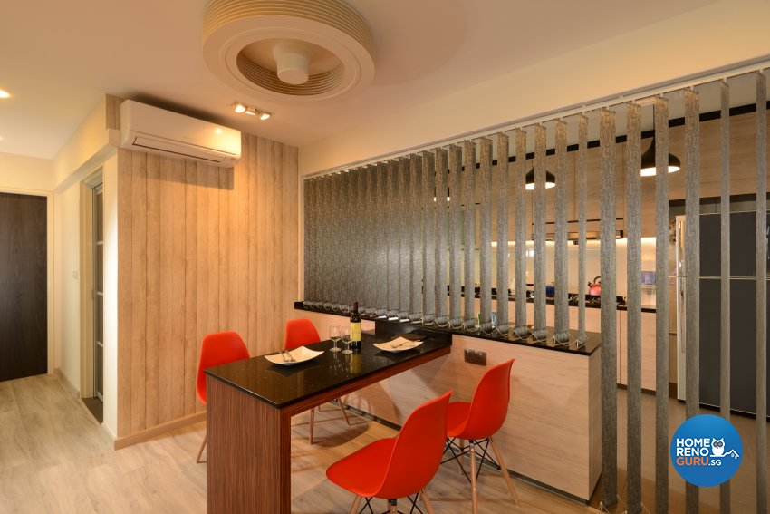 Contemporary, Modern Design - Dining Room - HDB 4 Room - Design by Darwin Interior