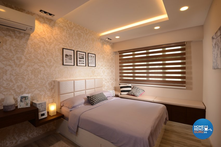 Contemporary, Modern Design - Bedroom - HDB 4 Room - Design by Darwin Interior
