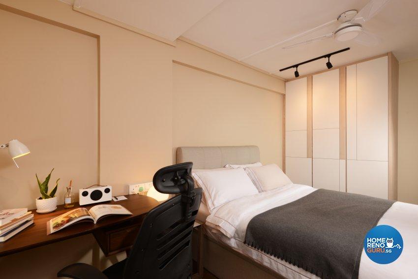 Modern Design - Bedroom - HDB 3 Room - Design by Darwin Interior