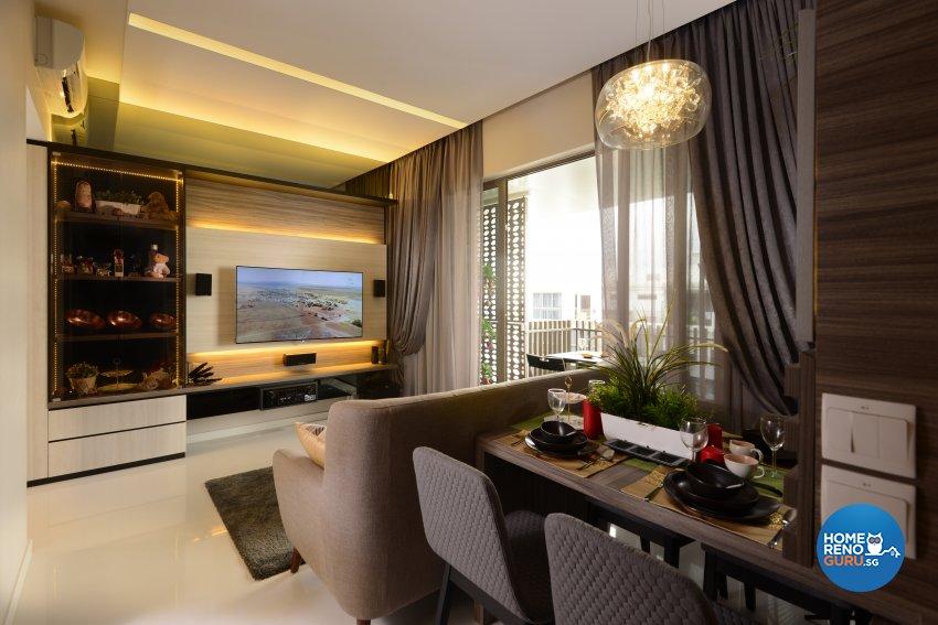 Contemporary, Modern, Resort Design - Dining Room - Condominium - Design by Darwin Interior