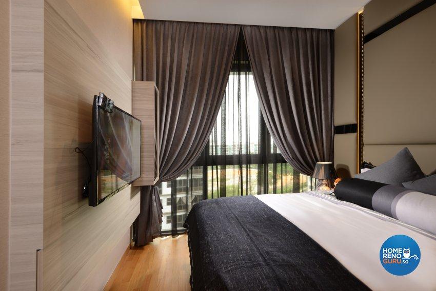 Contemporary, Modern, Resort Design - Bedroom - Condominium - Design by Darwin Interior