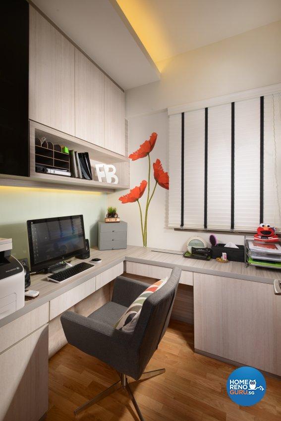 Contemporary, Modern, Resort Design - Study Room - Condominium - Design by Darwin Interior