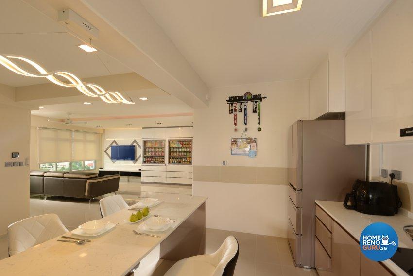 Modern Design - Kitchen - HDB 5 Room - Design by Darwin Interior