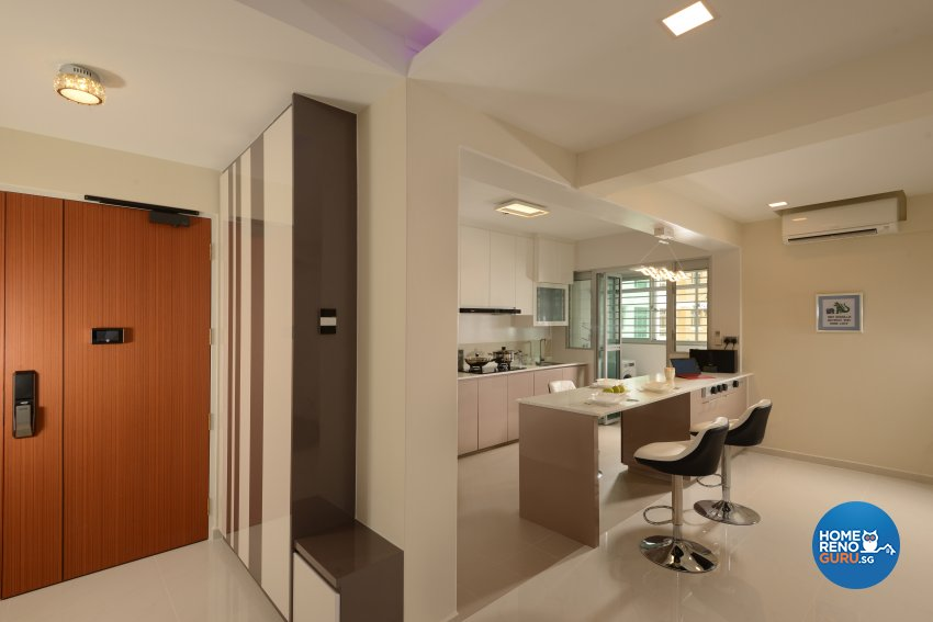 Modern Design - Living Room - HDB 5 Room - Design by Darwin Interior