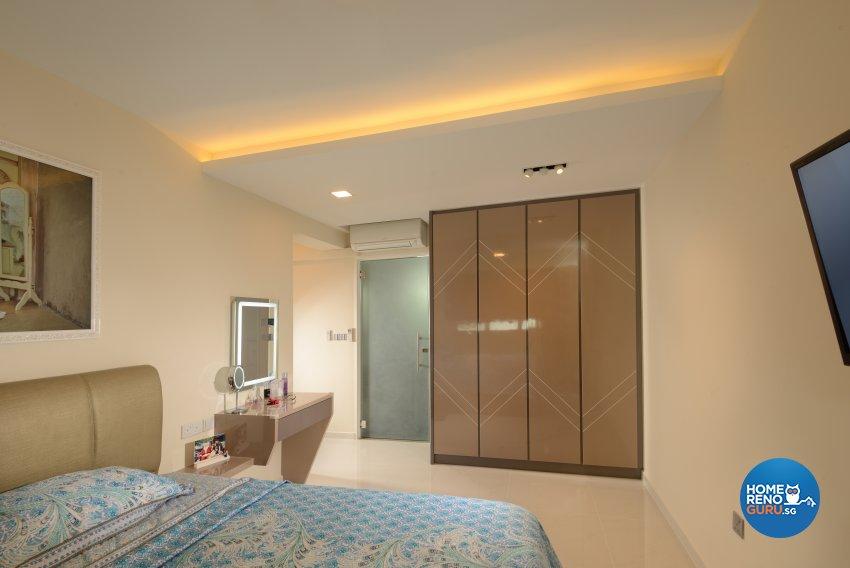 Modern Design - Bedroom - HDB 5 Room - Design by Darwin Interior