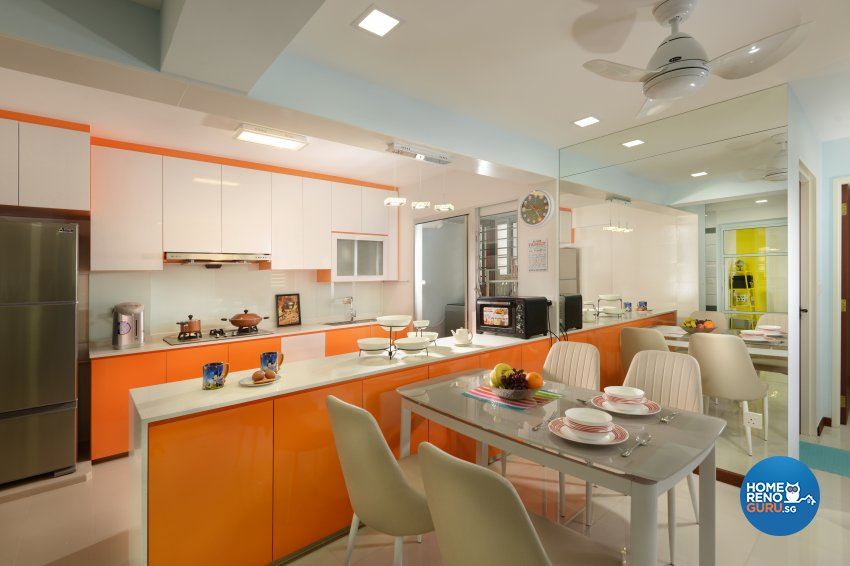 Contemporary Design - Kitchen - HDB 5 Room - Design by Darwin Interior