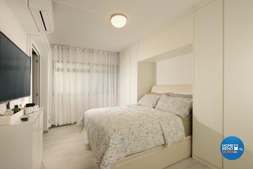 Contemporary Design - Bedroom - HDB 4 Room - Design by Darwin Interior
