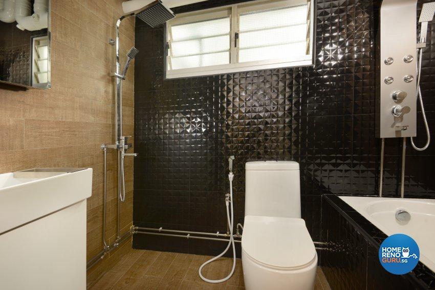 Contemporary Design - Bathroom - HDB 4 Room - Design by Darwin Interior