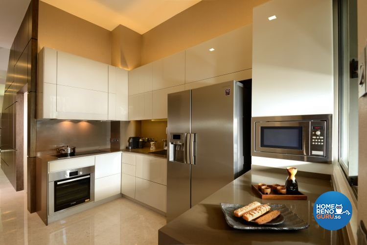 Classical, Modern, Tropical Design - Kitchen - Landed House - Design by Darwin Interior