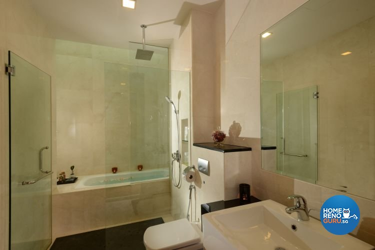 Classical, Modern, Tropical Design - Bathroom - Landed House - Design by Darwin Interior