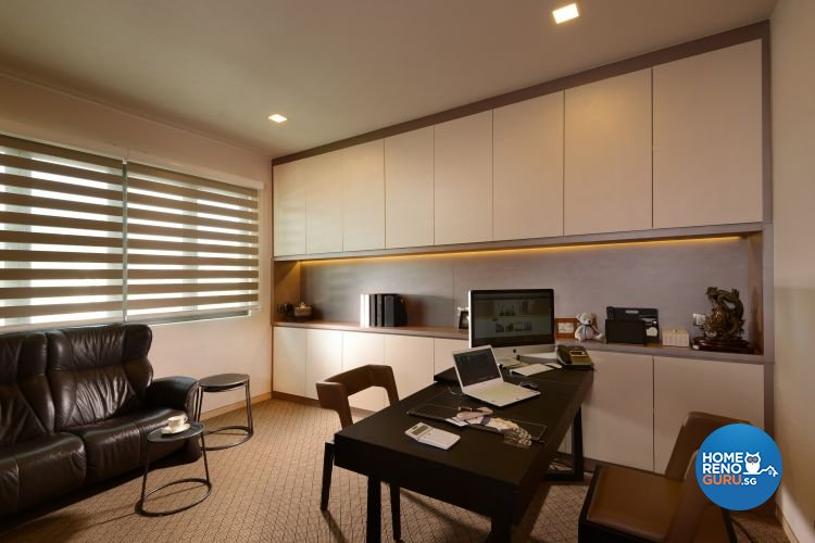 Classical, Modern, Tropical Design - Study Room - Landed House - Design by Darwin Interior